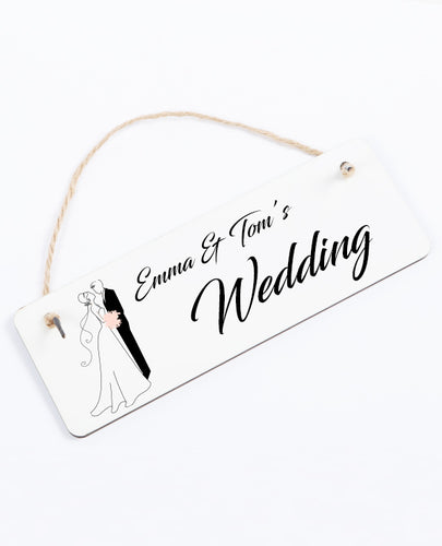 Wedding Fun - Hanging Sign - The Print Cave