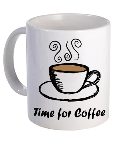 Time for Coffee - Mug - The Print Cave