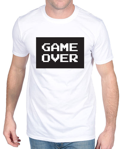 Game Over - Married Tshirt - The Print Cave