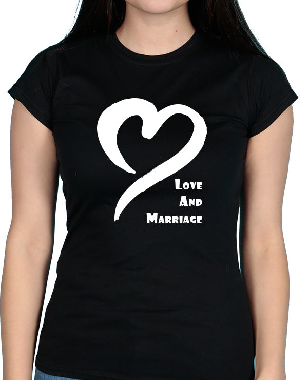 Love & Marriage - Tshirt / Vest - The Print Cave