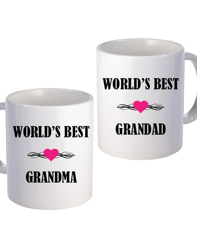 World's Best Grandparents Set - Mug - The Print Cave