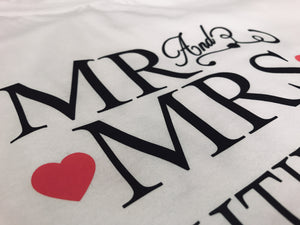 Officially Mr & Mrs - Tshirt - The Print Cave