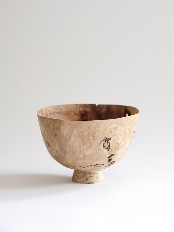Spalted Sycamore Tenanted Bowl