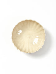 deep medium scalloped bowl
