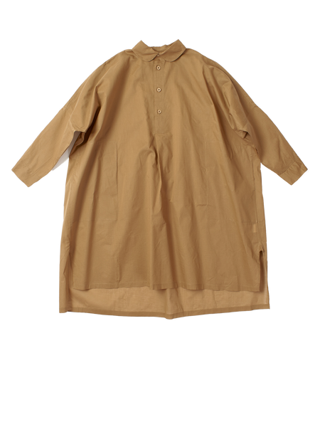Brown buttoned down shirt