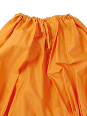 baggy orange shorts