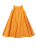 orange petticoat dress