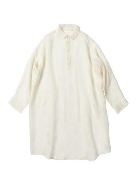 long linen night shirt
