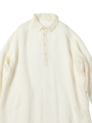 white longsleeve night shirt