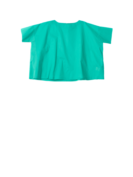 wide green tshirt