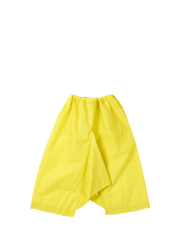 baggy yellow trousers
