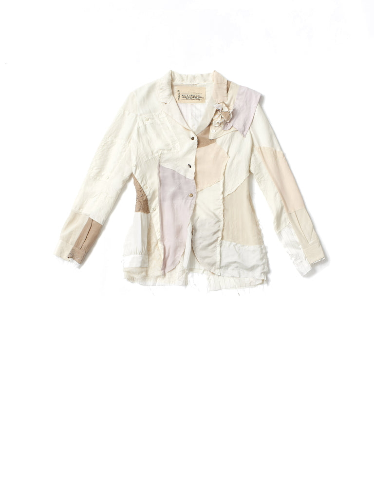 silk patch shirt