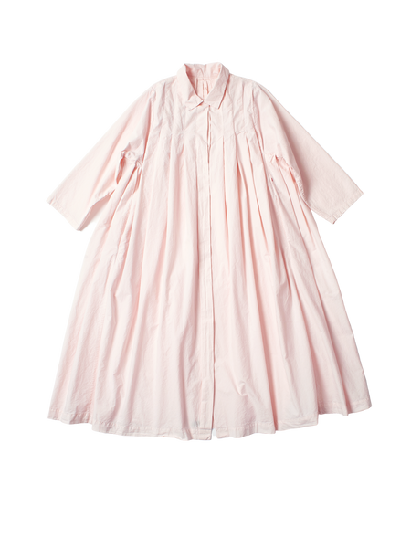 box pleat shirt dress