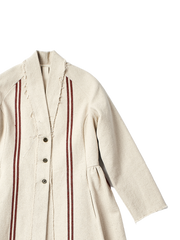 hessian coat