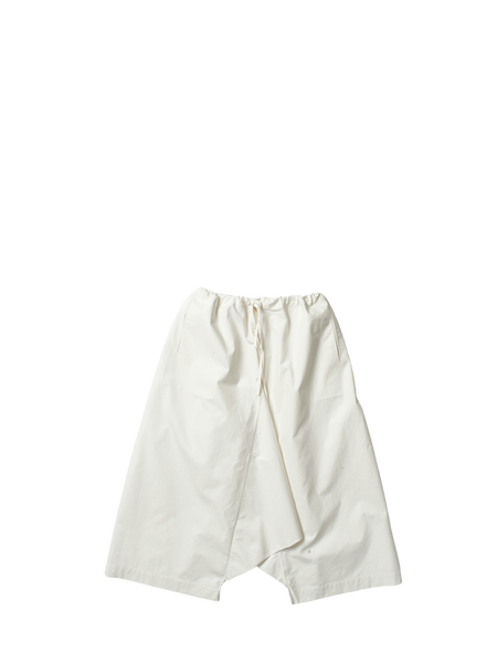 white canvas wide leg tom trousers