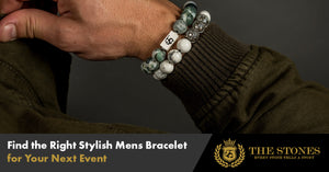 Find the Right Stylish Mens Bracelet for Your Next Event