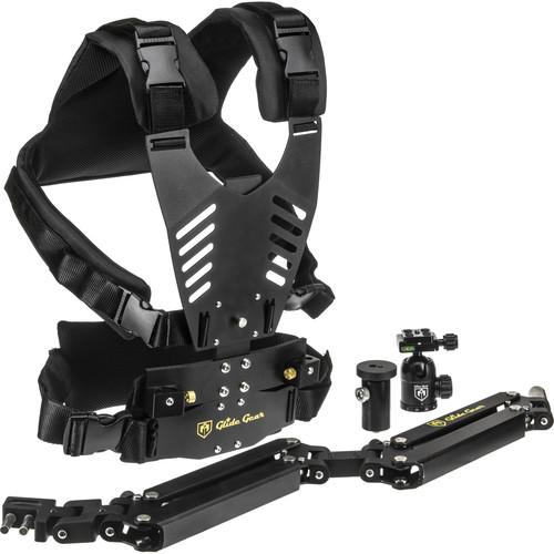 Glide Gear DNA 6000 - Video Camera Vest & Arm for 6-13lbs Gimbal setup such as Crane 2 / DJI Ronin S Gimbals - Koncept Innovators, LLC