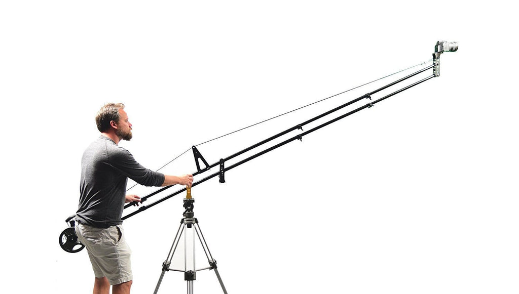 Glide Gear JB8 - Video Camera 8-Ft Portable Quick Jib Crane - Koncept Innovators, LLC