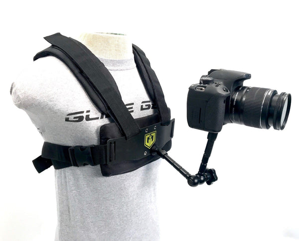 Glide Gear MED 100 Medusa DSLR POV Camera Vest Action Mount Harness - Koncept Innovators, LLC