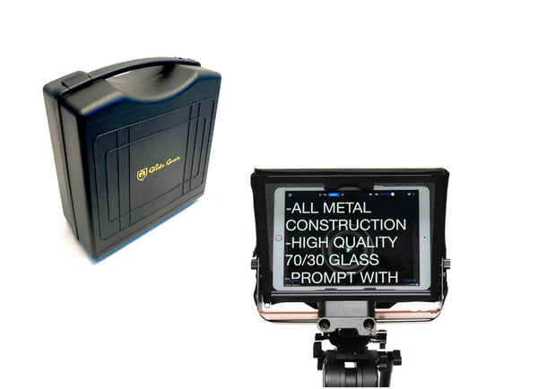Glide Gear TMP 500 - 15mm Rail Video Camera Tripod Teleprompter Protective Travel Case - Koncept Innovators, LLC