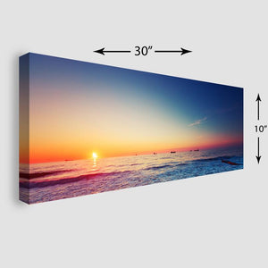 30x10 Panoramic Stretched Canvas