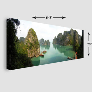 60x20 Panoramic Stretched Canvas