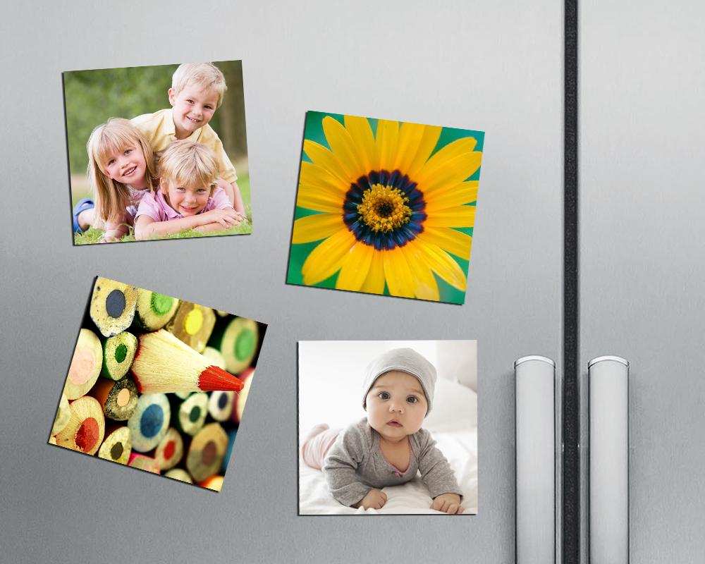 4 Pack Squared Magnets