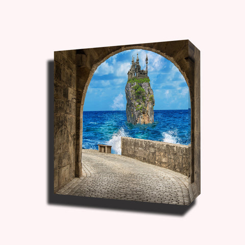 Architecture travel sea arch