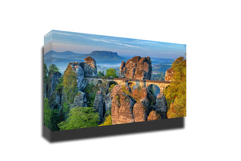 Bastei bridge saxon switzerland