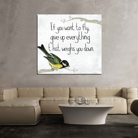 Bird quote fly motivational