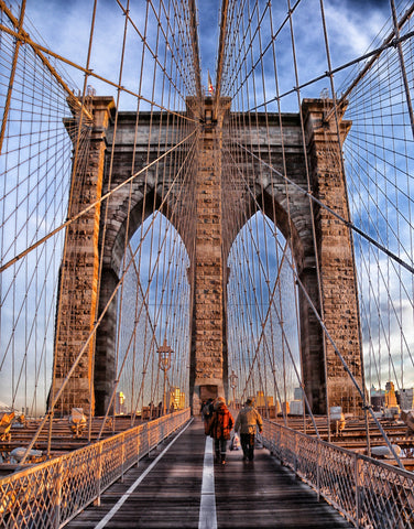 Brooklyn bridge landmark historic