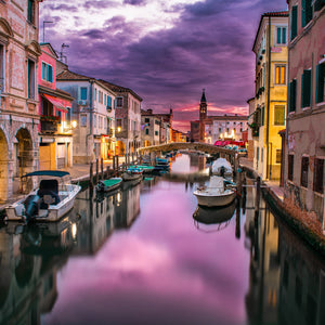 Canal venice italy water river