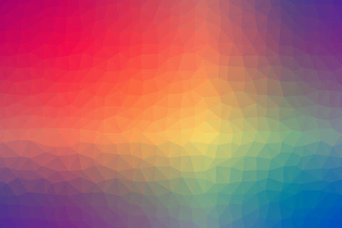 Color triangle geometric textured
