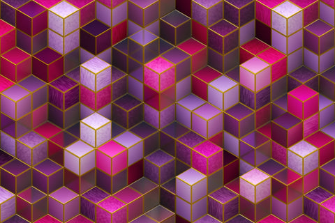 Cube surface texture background