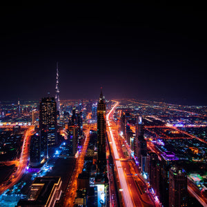 Dubai cityscape emirates travel