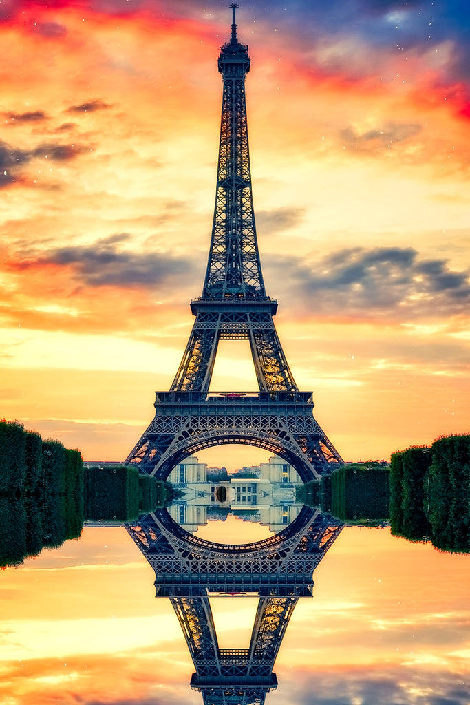 Eiffel tower paris france landmark