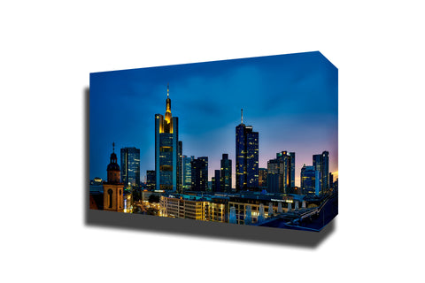 Frankfurt germany panorama city