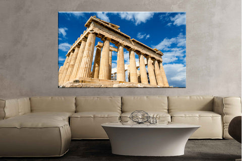 Greece palace sky parthenon iconic