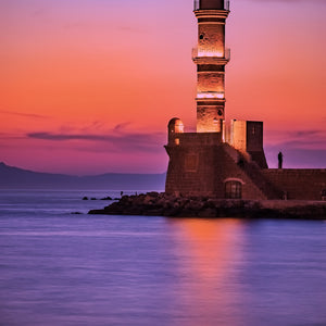 Greece lighthouse jetty quay sea