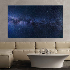 Milky way starry sky night sky star