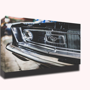 Mustang car automotive grill