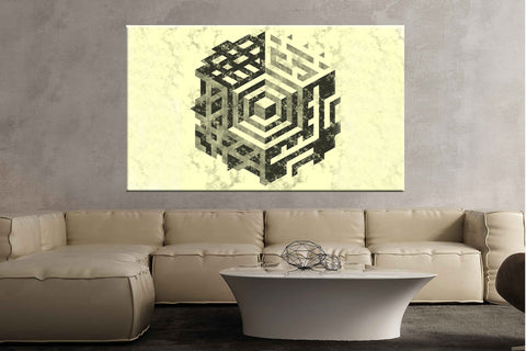 Pattern shape abstract art