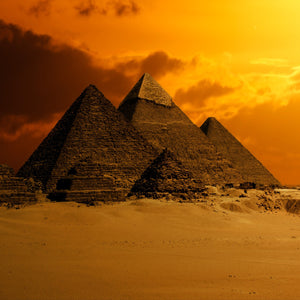Pyramid sky desert ancient egypt