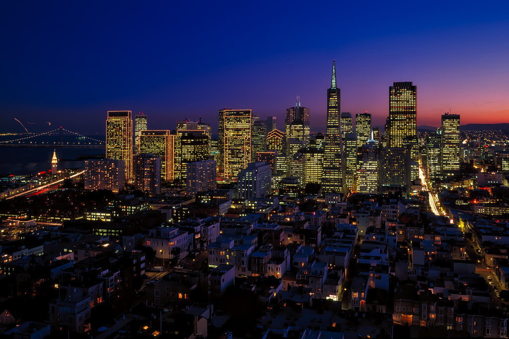 San francisco california city urban
