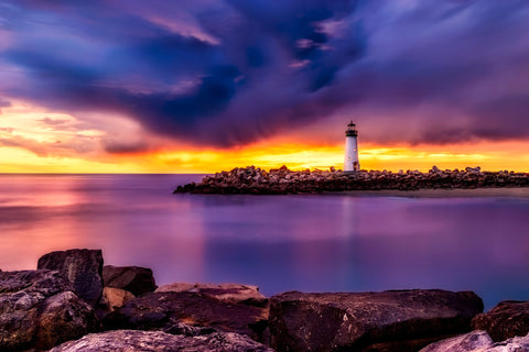 Santa cruz california lighthouse