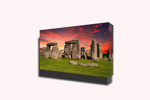 Stonehenge ancient banner england