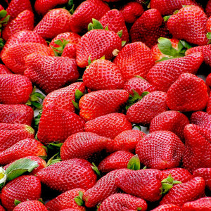 Strawberries red fruit