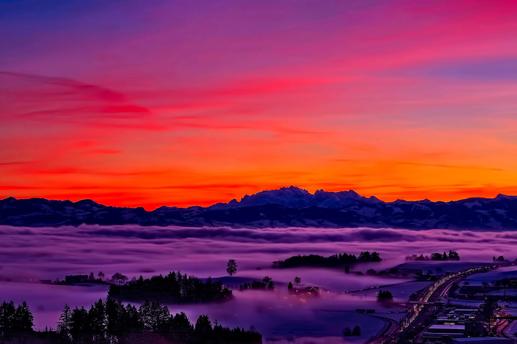Switzerland sky clouds beautiful