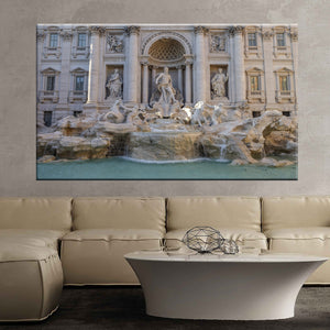 Trevi fountain fountain rome art