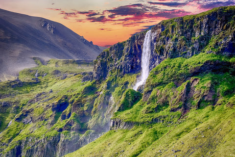 Waterfall landscape nature scenic
